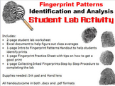 Forensic Science: Fingerprint Patterns Lab Activity