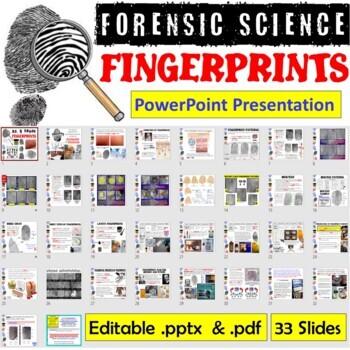 Forensic Science - Fingerprints PowerPoint Presentation