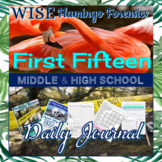 Forensic Science First Fifteen Daily Journal