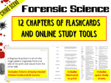 Forensic Science: Flash Cards and Online Study Tools