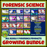 HUGE Forensic Science Bundle