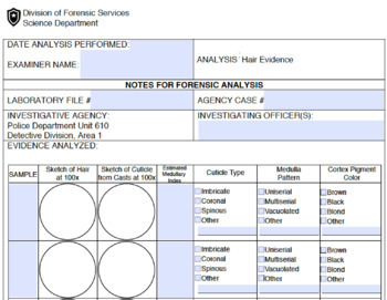 Forensic Science: Hair Evidence Analysis