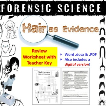 forensic science hair as e by biology zoology forensic science teachers pay teachers. Black Bedroom Furniture Sets. Home Design Ideas