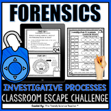 Forensic Science: Investigative Processes Classroom Escape Activity