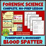 Forensic Blood Spatter Analysis