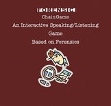 Forensic Science Listening and Speaking Game