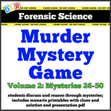 Forensic Science Murder Mystery Activity Vol. 2