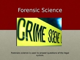 Forensic Science Powerpoint Presentation