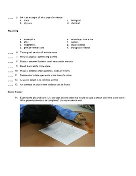Forensic Science Quiz