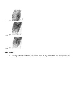 Forensic Science Test 1