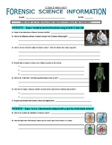 Forensic Science Webquest (3 Websites)