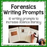Forensic Science Writing Prompts