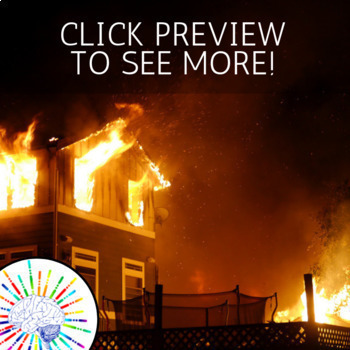 Forensic Science of Arson - Fire Investigation! No Prep! Use for Substitute!