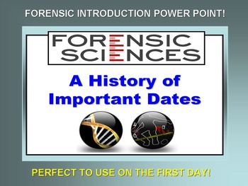 Forensic Timeline Power Point (First Day)