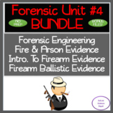 Forensic Unit#4:Engineering, Fire & Arson, Firearms & Ball