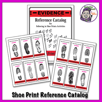 Forensics 102 - Impression Evidence - Shoe Prints Concept & Activities