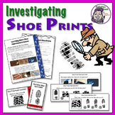 Middle School Forensics: Impression Evidence - Shoe Prints Concept & Activities