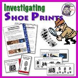 Forensics 102 - Impression Evidence - Shoe Prints Concept