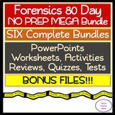 Forensic 80 Day NO PREP MEGA Bundle