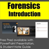 Forensics: An Introduction to Forensic Science Lecture & Note Guide