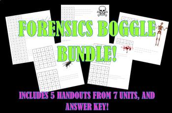 Forensics BOGGLE BUNDLE!