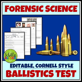 Forensic Ballistics Test - Forensic Science - with free Google version