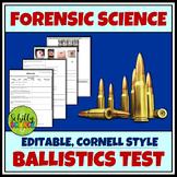 Forensic Ballistics Test