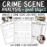 Forensics | Crime Scene Analysis FINAL PROJECT