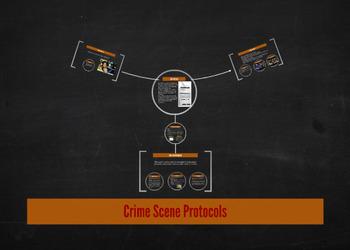 Forensics: Crime Scene Protocols Note Guide & Prezi
