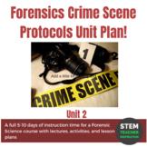 Forensics Crime Scene Protocols Unit Plan