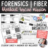 Forensics | Fiber as Evidence Rescue Mission (Digital Escape Room)