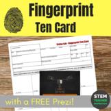 Forensics: Fingerprint Ten Card