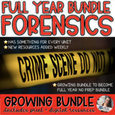 Forensics | Full Year - Something for Every Unit (Growing Bundle)