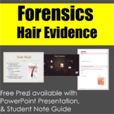 Forensics: Hair Evidence Lecture Presentation & Note Guide