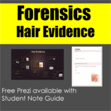 Forensics: Hair Evidence Note Guide and Free Prezi
