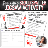 Forensics | Intro to Blood Spatter Student Jigsaw Activity