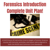 Forensics Introduction Curriculum Unit Plan