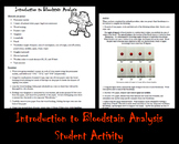 Forensics: Introduction to Bloodstain Analysis Student Activity