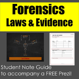 Forensics: Laws & Evidence Lecture Note Guide for Prezi