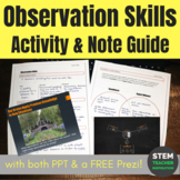 Forensics: Observation Skills Lecture Presentation Activity & Note Guide