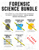 Forensic Science Project Bundle