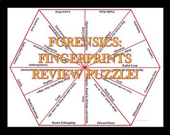 Forensics Review Puzzle - Fingerprints