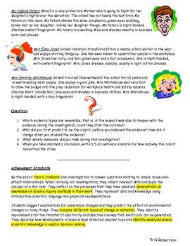 Forensics Science Assessment Task