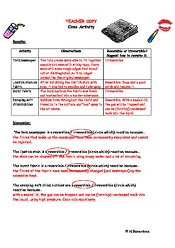Forensics Science Lesson Three