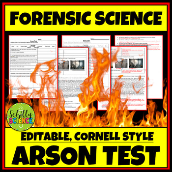 Forensic Arson Test & Answer Key