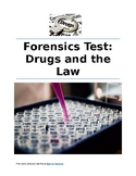 Forensics Test: Drugs and the Law