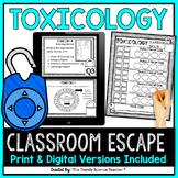 Forensics: Toxicology Escape the Classroom [Print & Digital]