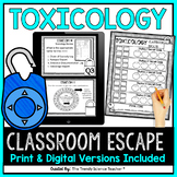 Forensics: Toxicology Escape the Classroom Activity