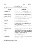 Forensics-Unit 12 Test-Ballistics