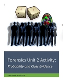 Forensics Unit 2 Activity: Probability and Class Evidence